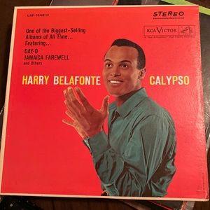 Vg Harry Belafonte Calypso vinyl 1956